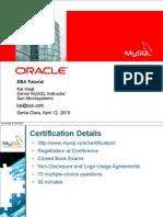 MySQL DBA Certification Tutorial, Part 1 Presentation 1.pdf
