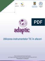 Brosura 1 - Utilizarea Instrumentelor TIC in Afaceri_date Contact