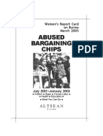 ABUSED BARGAINING CHIPS