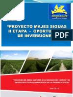 Proyecto Presa Angostura