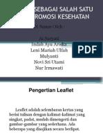 Leaflet Promkes