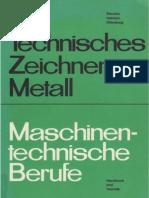 Technisches Zeichnen Metall