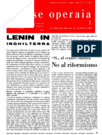 rivista Classe Operaia