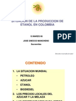 060315 Escenarios de Produccion de Etanol en Colombia