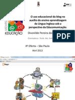 O uso educacional do blog no auxílio...