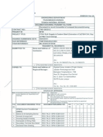 Tnb Transmittal Form - 275kv CT