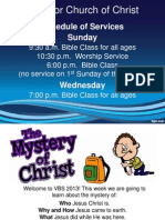 Monday Night VBS Slideshow