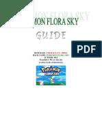 V.walkthrough Pokemon Flora Sky