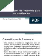 Convertidores de Frecuencia Para Automatizacion