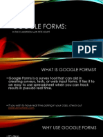 Google Forms for Education