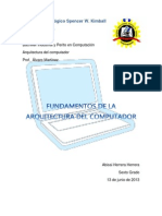 Fundamentos de La Arquitectura Del Computador_Abisai Herrera