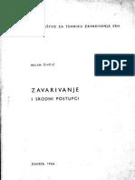 Živčić - Zavarivanje i srodni postupci (1966)