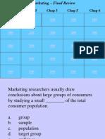marketing - final review - jeopardy - 2
