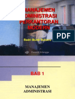 Management Administrasi Perkantoran mOdErn. Revised