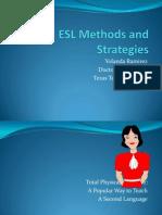 ESL Methods and Strategies