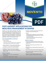 Movento Insecticide - 2012 Grape Mealybug Management Guide