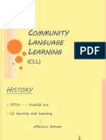 Community Language Learning Method PP