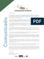 Real CEPPA Comunicado 13-6-2013