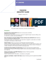 Fashion Industry Guide