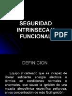 Seguridad Intrinseca y Funcional