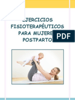 Cuaderno Fisioterapia en Mujeres Postparto