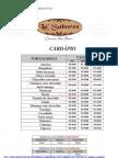 CARDAPIO LA SABORES COM PREÇOS01 atualizado em 090512