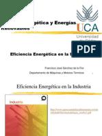 Tema 4. Eficiencia Energética en la Industria