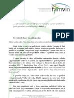 VIERA - List generálneho predstaveného kongregácie misie
