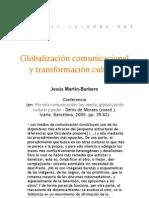 Globalización comunicacional y transformación cultural