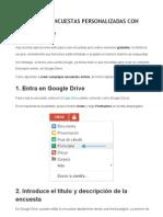 Crean Do en Cuesta Scon Google Drive
