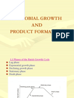 (1)Microbial Growth and Product Formation