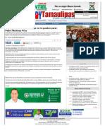 12-06-2013 El proyecto de Pepe Elías, ya no lo pueden parar