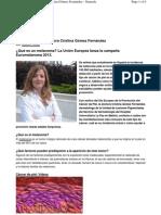 Cáncer de piel. Dra. Cristina Gómez Fernández