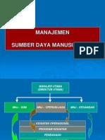Manajemen Sumber Daya Manusia ( Sdm )