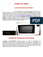 Manual Para Horno Inverter