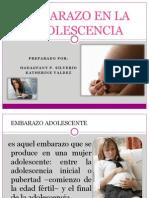 Embarazo en La Adolescencia II