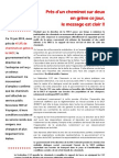 20130613 Communique Pres d Un Cheminot Sur 2 en Greve