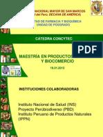 Negron San Marco Maestr a en Productos Naturales y Biocomercio