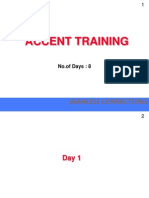 Accent Training Module
