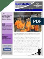 Summer Newsletter June 2013
