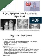 Tanda, Gejala Dan Patofisiologi hipertiroid