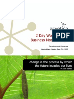 2 Day Workshop on Business Model Design 27607