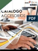 Catalogo Accesorios