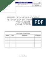 Manual Asterisk Sip Caractristicas