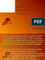 Cultura Organizationala in Cadrul Companiei Coca Cola Www.student-Info.ro