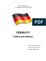 Germany - Culture and Traditionsd.