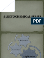 Electochemical Series
