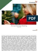 Stora Enso Annual General Meeting, 2009-04-01