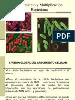 Crecimiento y Multiplicación Bacteriana .ppt