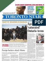 Toronto Star Feb. 17 2011